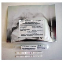 Набор реагентов для быстрой идентификации возбудителя легионеллеза «Тест-полоска L.pneumophila 1»