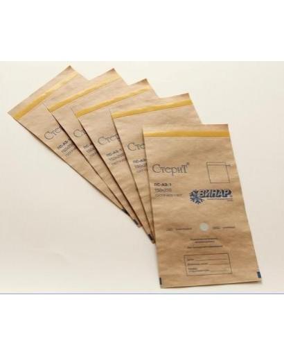 """Пакеты бумажные самоклеящиеся """"СтериТ®"""" 400х500 мм"""
